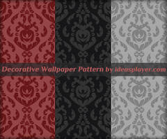 Decorative Wallpaper Pattern by PetyaPlamenova
