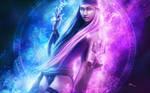 Goddess of fire by PetyaPlamenova