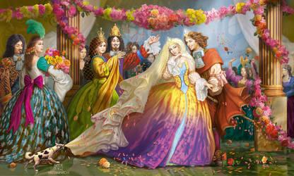 Perrault 'Sleeping Beauty' 6 by yalex