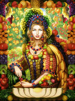 Queen fruits by yalex