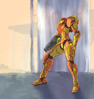 Samus by StrictlyMecha