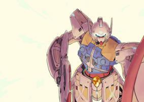Turn A Gundam Shin by StrictlyMecha