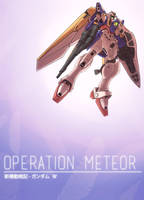 Operation Meteor: Mobile Suit Gundam Wing by StrictlyMecha