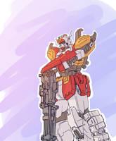 XXXG-01H Heavyarms Gundam by StrictlyMecha
