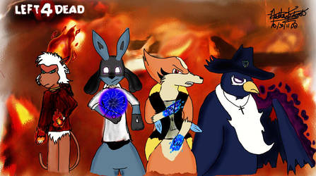 Left 4 Dead: RD Style by MrFalloutDropout