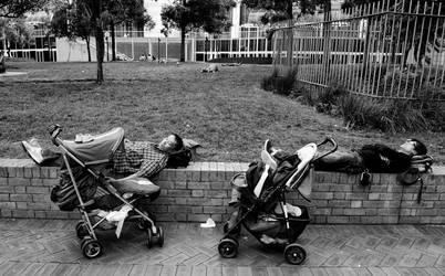 Sleeping on the job by Timothy-Sim
