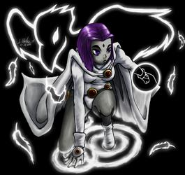White Raven by Tanooki128