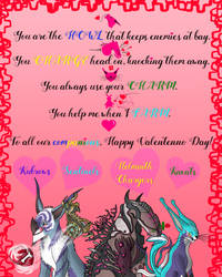 Happy Valentenno to our Warframe Companions! by FashionFrame