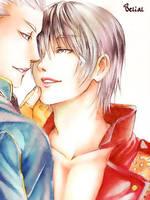 Vergil and Dante by BeBelial