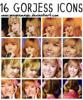 16 Gorjess icons by geegeemagic