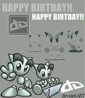 DEVIANTART'S B'DAY by geegeemagic