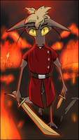 Fire and War by StarstruckEchoid