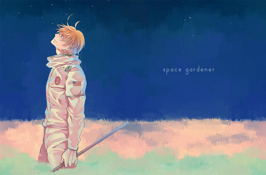 SPACE GARDENER by nairchan