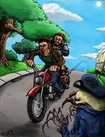 John Freeman's Ride Out Color by AmazingTrout