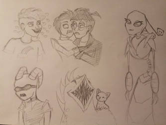 doodles by BreadPande