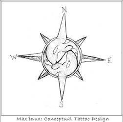 Max'inux: Tattoo Concept by Zirtavia
