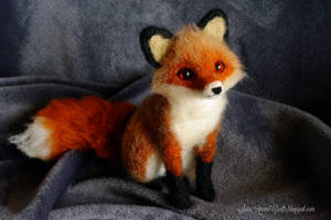 Red fox for S. by SaniAmaniCrafts