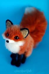 Red fox V by SaniAmaniCrafts