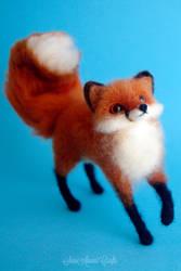 Red fox VI by SaniAmaniCrafts