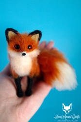 Red fox IX by SaniAmaniCrafts