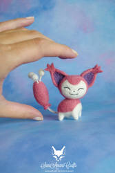 Skitty by SaniAmaniCrafts