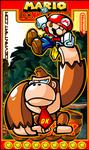 Mario VS Donkey Kong by Sauron88