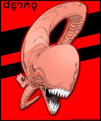 Alien (Larva) by Sauron88