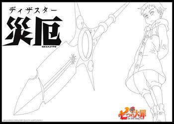 Nanatsu no Taizai - The Seven Deadly Sins - KING by Sauron88