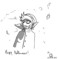 Link Happy Halloween by Im-Katone