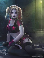 Harley Quinn rebirth update by Phil-G-Ramsay