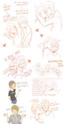 Mavin Sketchdump #1 by pikmama