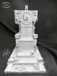 '' Trono Elder Predator Sculpt Custom '' by AlejandroSandoval
