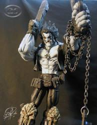 '' Lobo '' statue custom. by AlejandroSandoval