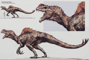 Lost Worlds- Archonychus by wfdrawings