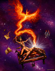 The Piano Phoenix by ShacharLaudon