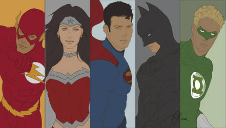 Justice Sketch by SweeetRazzbery