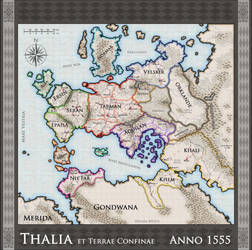 Thalia Map - Political - OUT OF DATE by DarthZahl