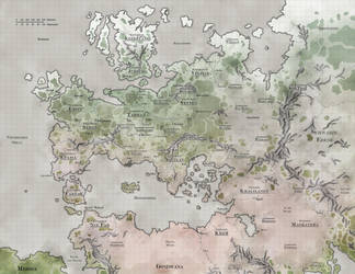 Thalia - Continent Map - OUT OF DATE by DarthZahl