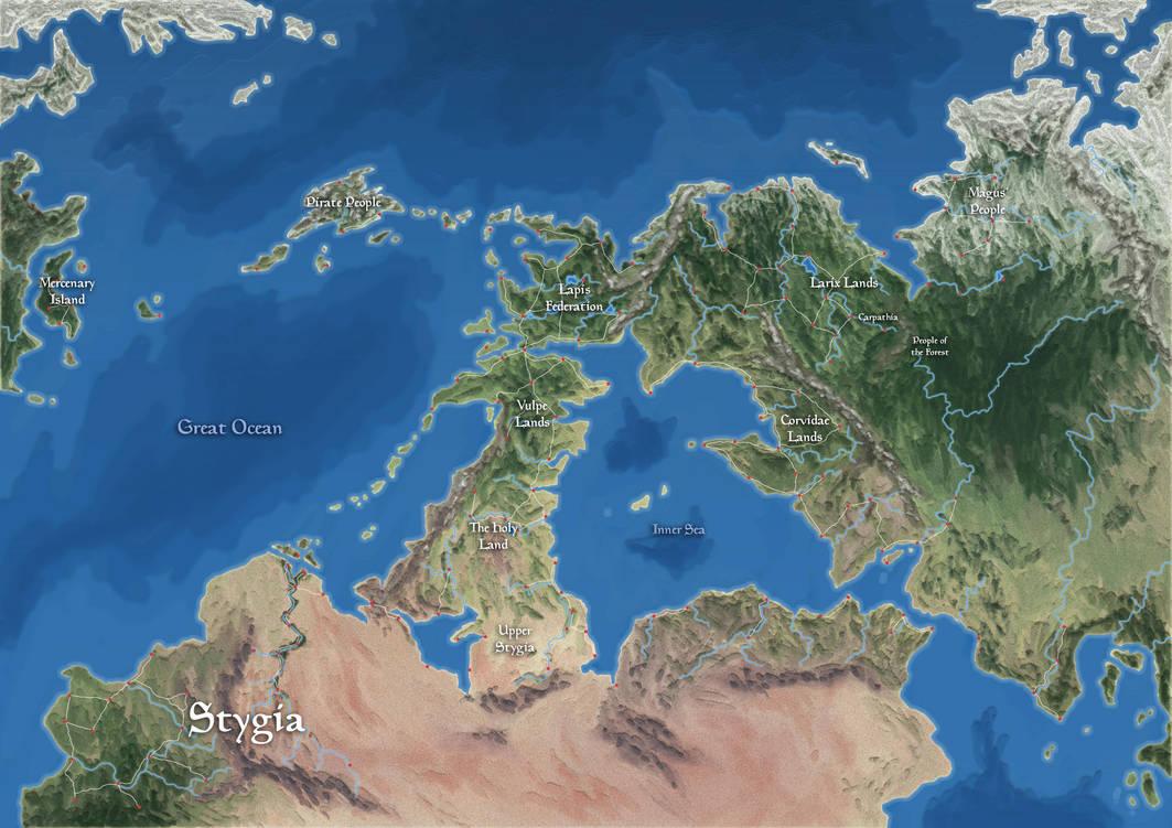The World of Carpathia [WIP] by DarthZahl