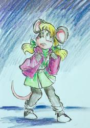 raincoat weather by thejunedog