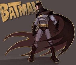 The Batman by ai-eye
