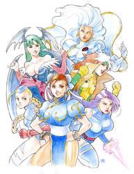 Commission: Marvel VS Capcom by ai-eye