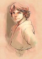 Luke Skywalker by ai-eye