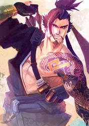 Hanzo by ai-eye