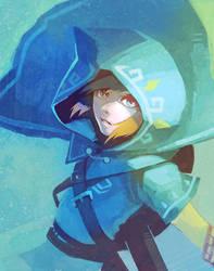 BotW Link by ai-eye