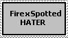 Firexspotted HATER stamp by pritypikachu