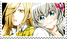 momiji and ichiko stamp by moeco