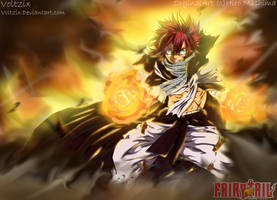 Fairy Tail 418 - Natsu The Challanger by Voltzix