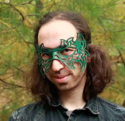 Tribal Filigree Mask by DracoLoricatus