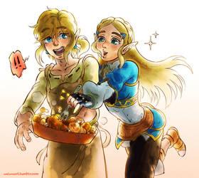 Feed me Link!! by HeyWei